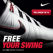 Free Your Swing: Pre-Order TW '14 Golf Shoes