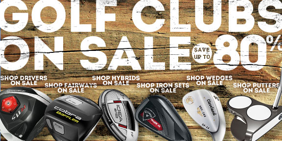 Golf Clubs on Sale: Save up to 80%