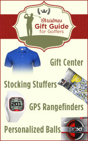 Christmas Gift Guide for Golfers
