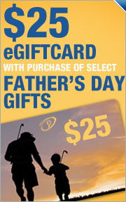 Free $25 Gift Card w/ Purchase on Select Father&#39;&#39;s Day Gifts