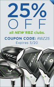 Take an Additional 25% Off All New RocketBallz Clubs