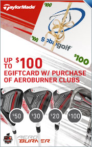 Up to $100 Gift Card on all 2015 AeroBurner Clubs