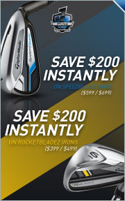 SpeedBlade & RocketBladez Irons Instant Savings -- Save up to $200