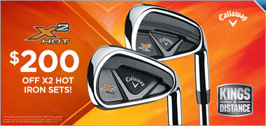 $200 Off Callaway X2 Hot Iron Sets