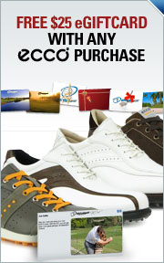 Receive a $25 Gift Card after You Purchase ECCO golf shoes!
