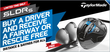 Buy a TaylorMade SLDR S Driver and Get a SLDR S Fairway or Rescue Free