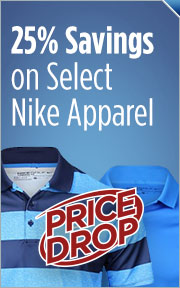Price Drop - 25% Savings On Select Nike Apparel