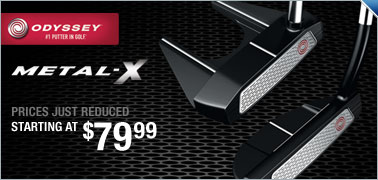 Odyssey Metal-X Putters Starting At $119.99