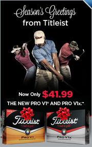 Special Holiday Offer From Titleist, Pro V1 and Pro V1x Golf Balls Only $41.99