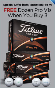 Special Offer from Titleist on Pro V1 - Purchase 3 Dozen or More PRO V1 or PRO V1x and Receive 1 Dozen Free