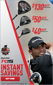 Instant Savings On TaylorMade R15 Drivers