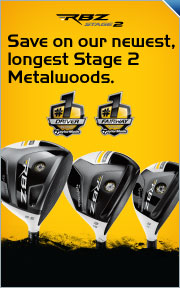 Save up to $100 on TaylorMade's Newest, Longest Stage 2 Metalwoods