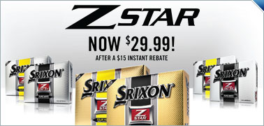 Srixon Z-Star Golf Balls Now Only $29.99 After Instant $15 Rebate