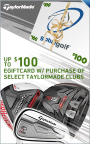 Up to $100 Gift Card on Select 2015 TaylorMade Clubs