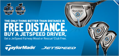 Buy a New TaylorMade JetSpeed Driver and Get a Fairway or Hybrid Free