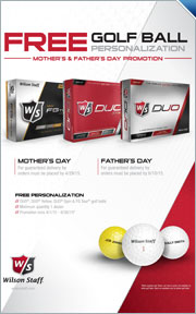 Free Wilson Golf Ball Personalization