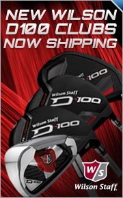 New Wilson D-100 Clubs Are Now Shipping Free With 30 Day Playability Guarantee