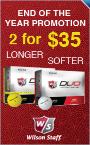 Buy 2 Dozen Wilson Staff DUO Balls for $35