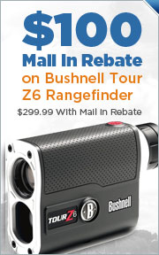 Bushnell Tour Z6 Rangefinder Now Only $299.99 with a $100 Mail in Rebate